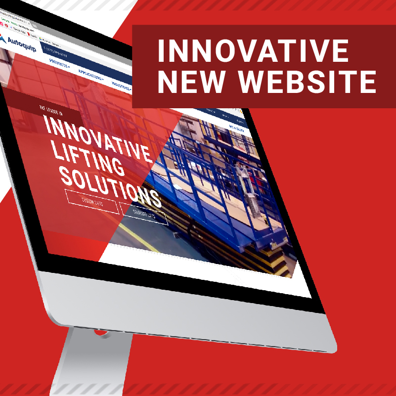 New Website Launch Banner by Autoquip