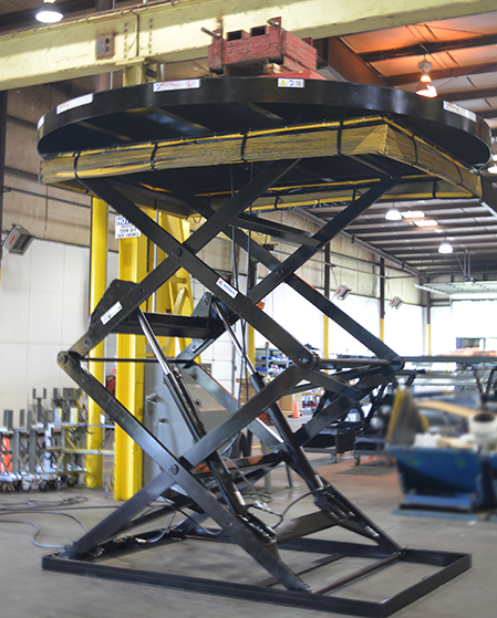 Weight Test for Double Pantograph Lift with Round Platform feature image